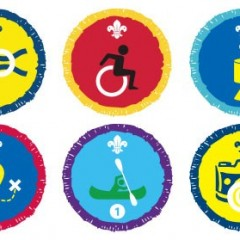 Scouts Launch new range of activity badges