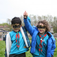 Burnley and Pendle Scouts Renew Their Promises